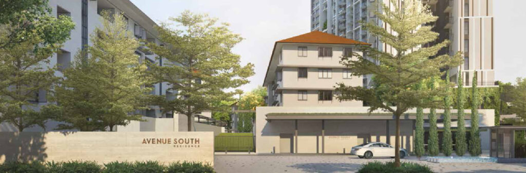 Avenue South Residence at Greater Southern Waterfront by UOL Group